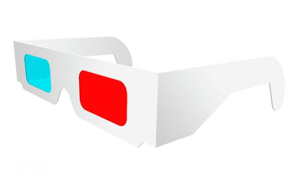 lunettes anaglyphes 3d carton