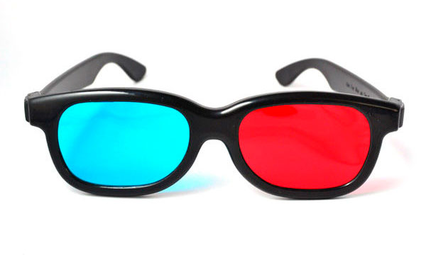 lunettes anaglyphes
