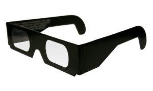 lunettes chromadepth carton
