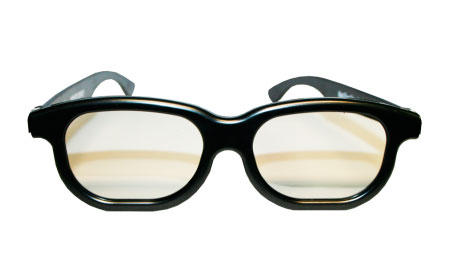 lunettes chromadepth plastique