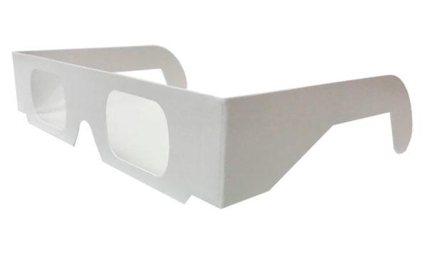 lunettes à diffraction carton