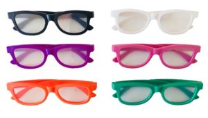 lunettes diffraction plastique