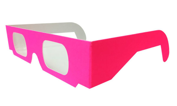 diffraction carton fluo rose