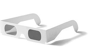 lunettes 3d polarisantes carton