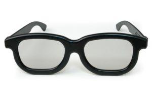 Passives circular polarized 3d glasses
